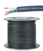 4/2 SOOW Portable Cable SO Cord 600V 2 Conductor 4 AWG MSHA/CSA Compliant [Unit and Price is Per Foot]