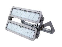 Main Image Maxlite ELLF270UW50AGSH12 74819 270 Watt Hazardous Location High Output LED Flood Light Fixture 120 Degree Beam Angle Arch Yoke Mount 5000K