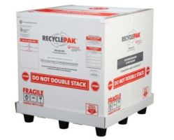 Veolia SUPPLY-261 RecyclePak Cubic Yard Mixed Lamps Recycling Container Kit Prepaid Return Shipping Product