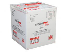 Veolia SUPPLY-191 RecyclePak Large U-Tube and HID Lamp Recycling Box Container Kit Prepaid Return Shipping Photo