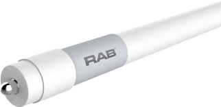 RAB Lighting T8-43-96G-FA8 43 Watt 8 Ft Ballast Bypass Double-Ended Single Pin Linear Tube Lamp 59W and 54W Equivalent