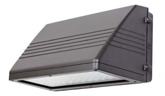 Louvers International 45 Watt LED Full Cutoff Wallpack Light Fixture