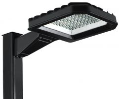 LSI Industries TEL-LED Series DLC Qualified Tellus LED Area Light 4500K Dimmable