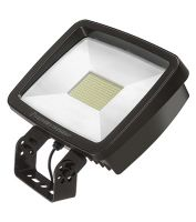 Lithonia Lighting TFX4 LED DLC Premium 296 Watt Outdoor LED Floodlight Fixture Replaces 1000W MH - Yoke or Slipfitter Mount