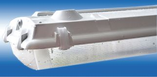 Main Image Howard Lighting VHL2F57616240U00000I 162 Watt Vaporproof LED Highbay Frosted Lens 4000K 120-277v