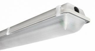 EPCO G8L4-T8LED-LMPS 8 Foot 4 T8 Lamp LED Linear Vaportight Fixture Narrow Body