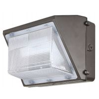 ILP WPMO-45WLED DLC Qualified 45 Watt LED Medium Open Face Wall Pack Replaces 175W MH