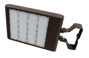 Howard Lighting XFLE-5300-MV-TR-F1-I DLC Qualified 293 Watt LED Flood Light Fixture with Trunnion Mount Dimmable 5000K