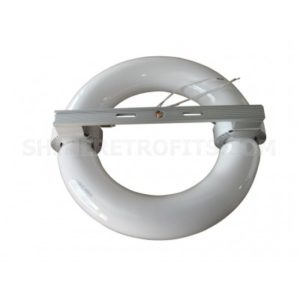 250W 250 Watt Circular Round Saturn Series Induction Lamp with Multi Volt 120-277V Ballast