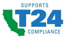 T24 lighting certification logo
