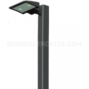 RAB Lighting LED Pole fixture for parking lots or streets