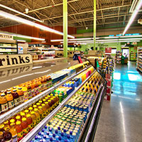 color temperatures in grocery stores are usually around 4100k