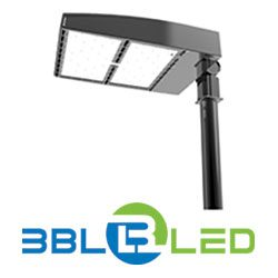 3bl led pole light